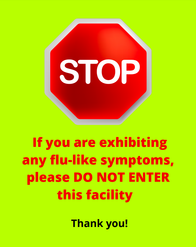 Visitor Sign